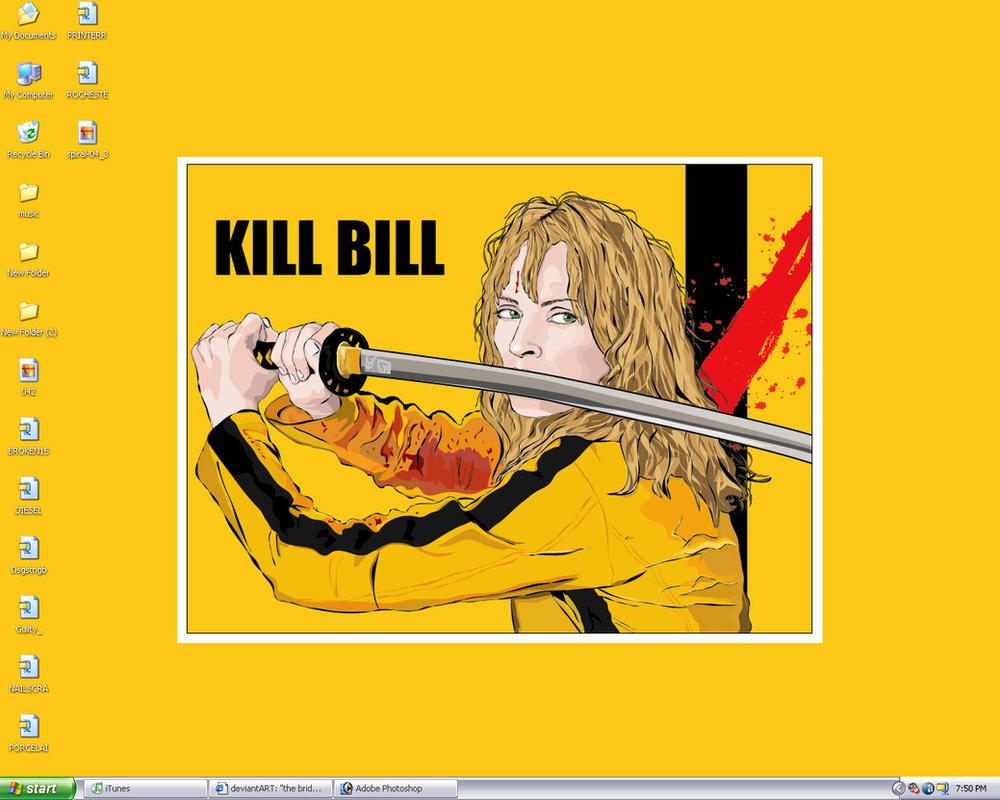 AWSOME Kill Bill wallpaper by spork-sama