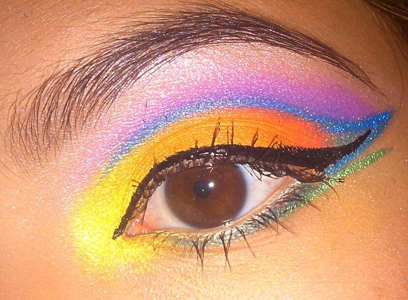 Color Wheel eyeshadow by KLRainbow