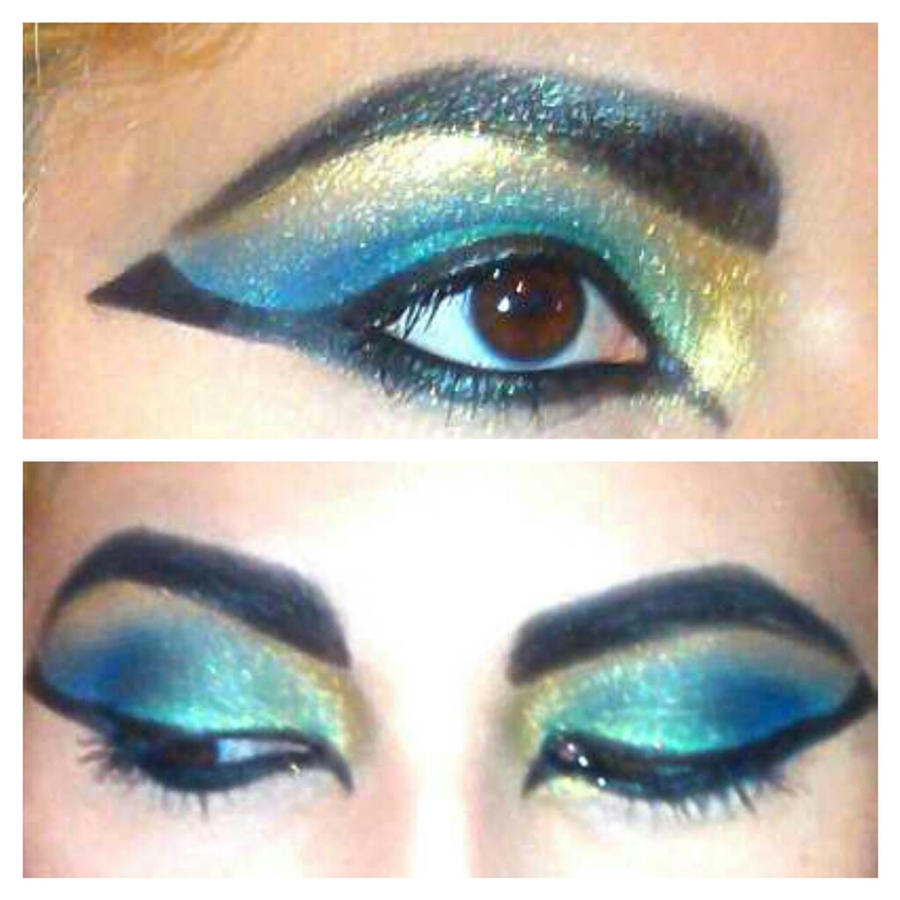 Cleopatra Egyptian Inspired Eyes By KLRainbow On DeviantArt
