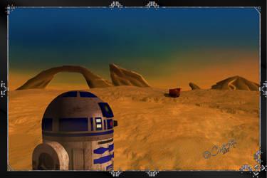 R2D2 In Tatooine