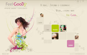 Webdesign for beauty salon by DesignersJunior