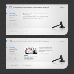 Web Interface: Jurcon by DesignersJunior