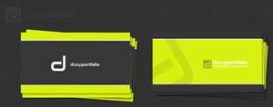 dioxyportfolio business card