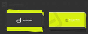 dioxyportfolio business card