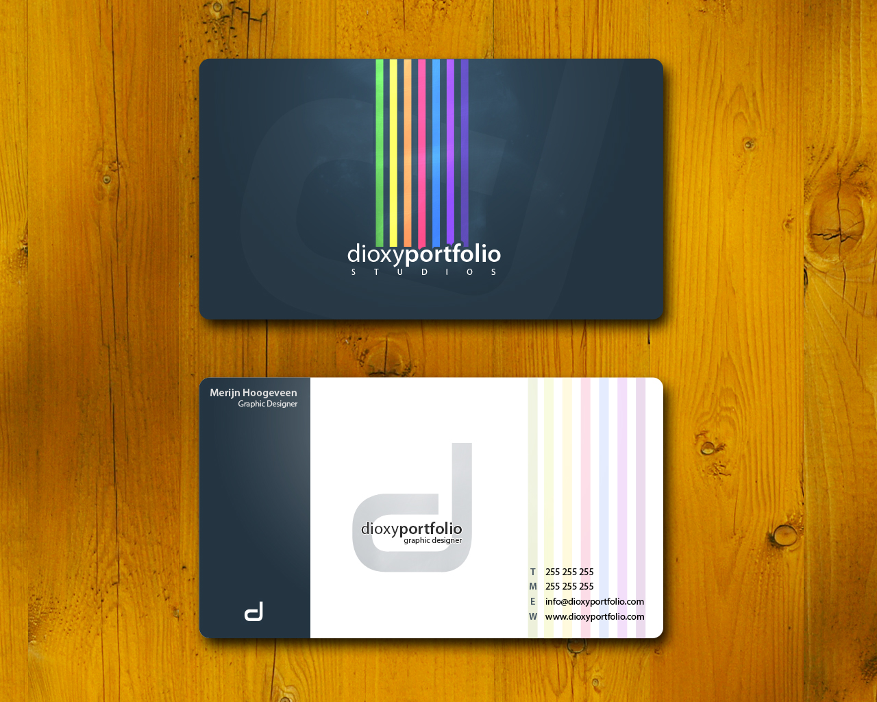 Examples Graphic Designer Business Cards Business card