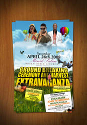 harvest extravaganza flyer by DesignersJunior