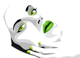 Green Scarlet by DesignersJunior