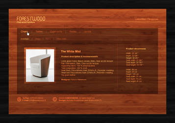 Web Interface: ForestWood by DesignersJunior