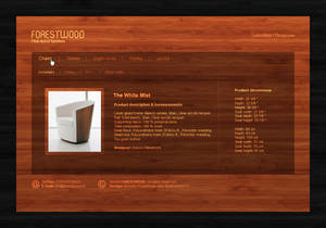 Web Interface: ForestWood