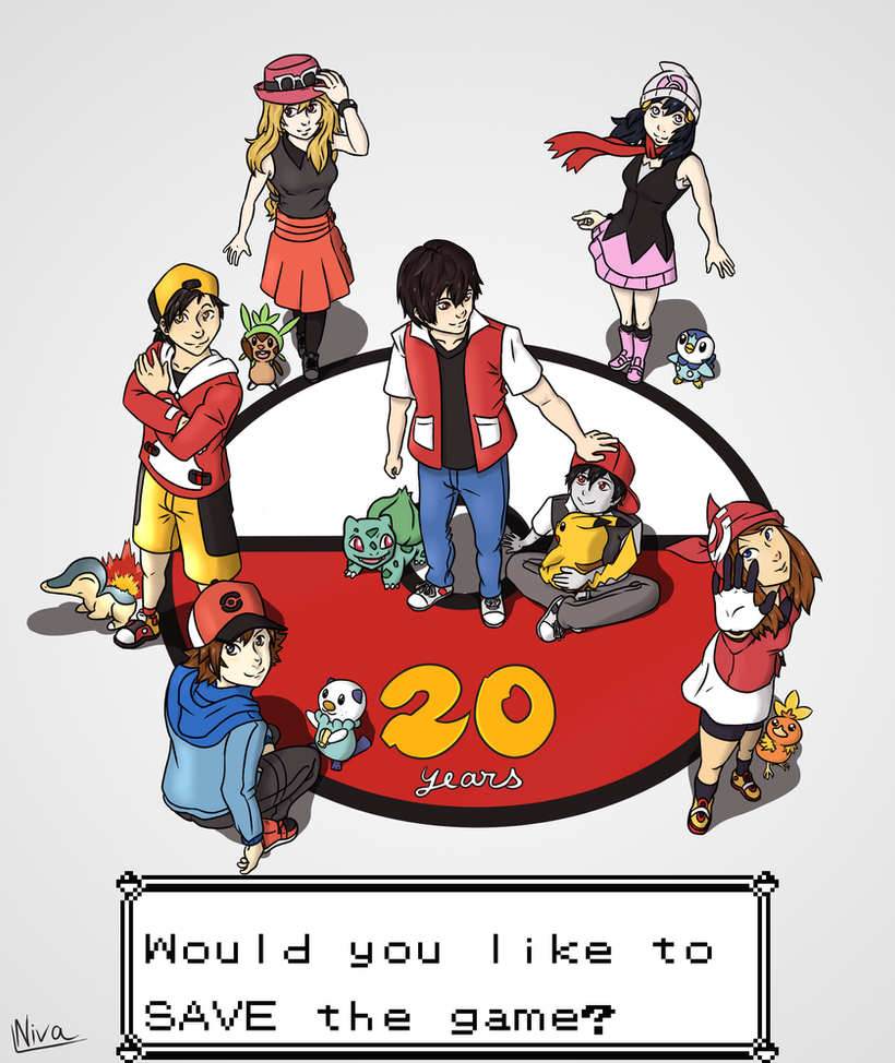 Pokemon 20th Anniversary Logo Images