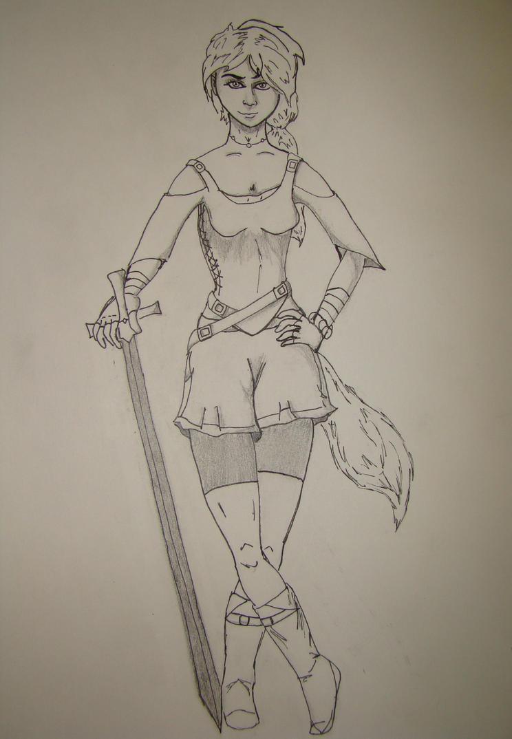 Strays: Older Meela by Avatarone3