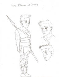 Selina sketch
