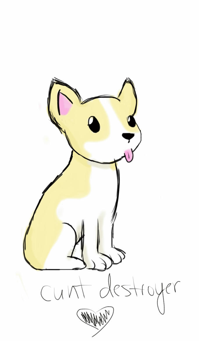 Another Corgi Sketch by Kanataki