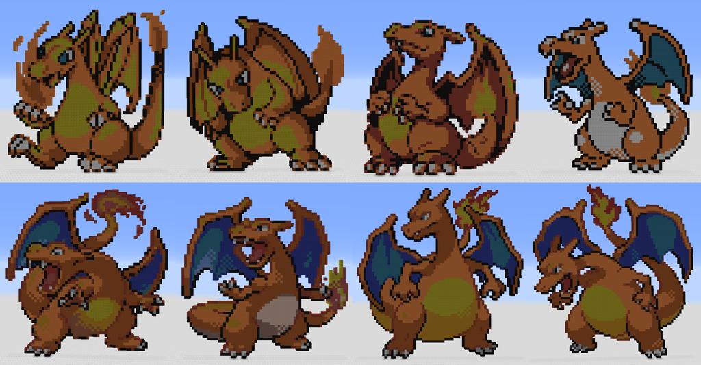 Pokemon Charizard X Sprite Images | Pokemon Images