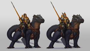 Drake cavalry