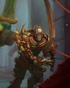 Bloodbone, Warforged Barbarian