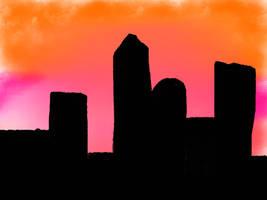 City Skyline by konachanismyname