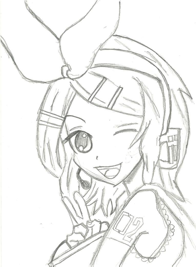 Kagamine Rin by bubblestx