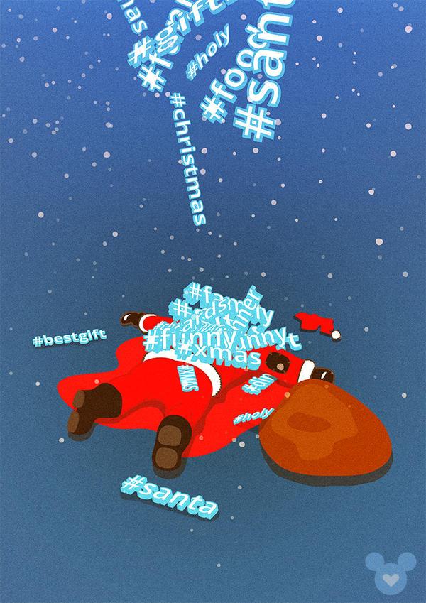 Twitterkill Santa by Davinxi