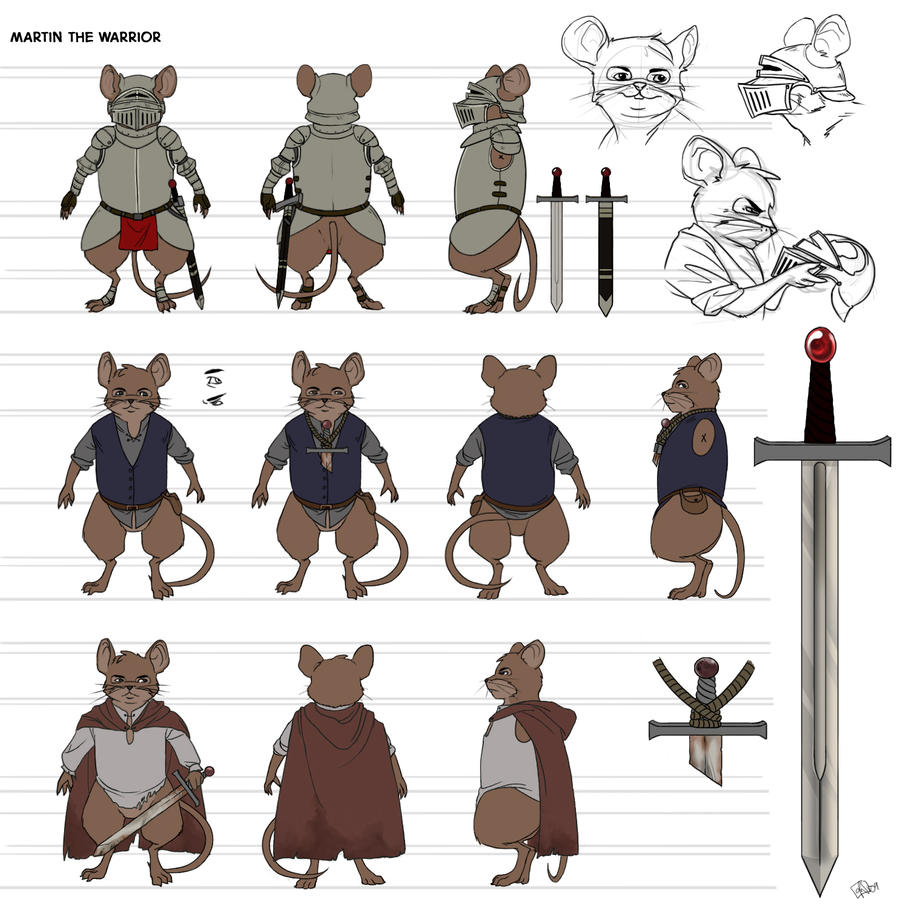 Martin Character Sheet by Eshva