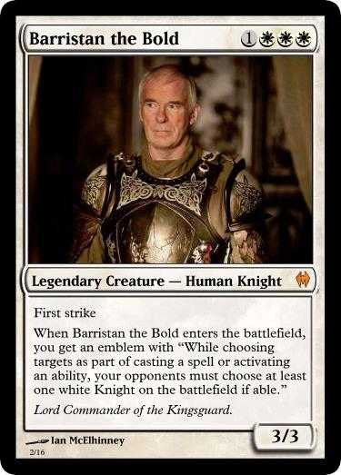 barristan selmy barristan the bold by dhigse on deviantart