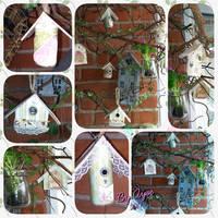 Miniature birdhouse