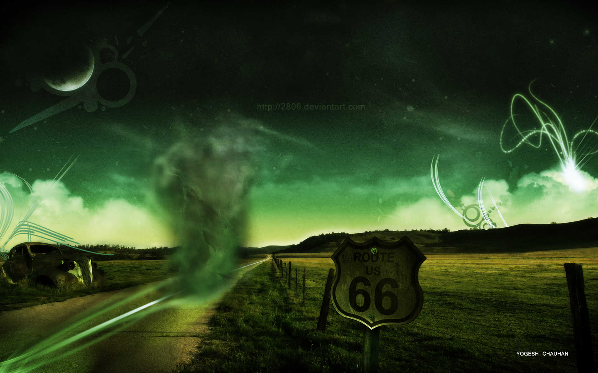 Route 66 by 2806