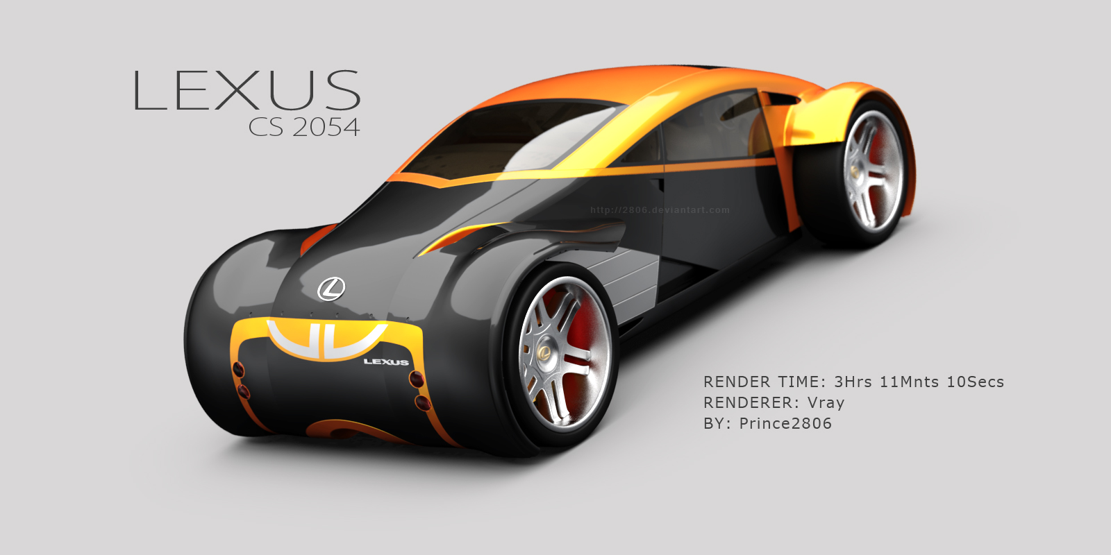 2806 96 32 Lexus CS 2054 Orange_by 2806 by 2806