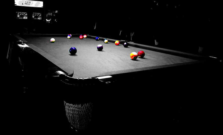 Miss Q's Pool balls by AbbottPhotoArt on DeviantArt