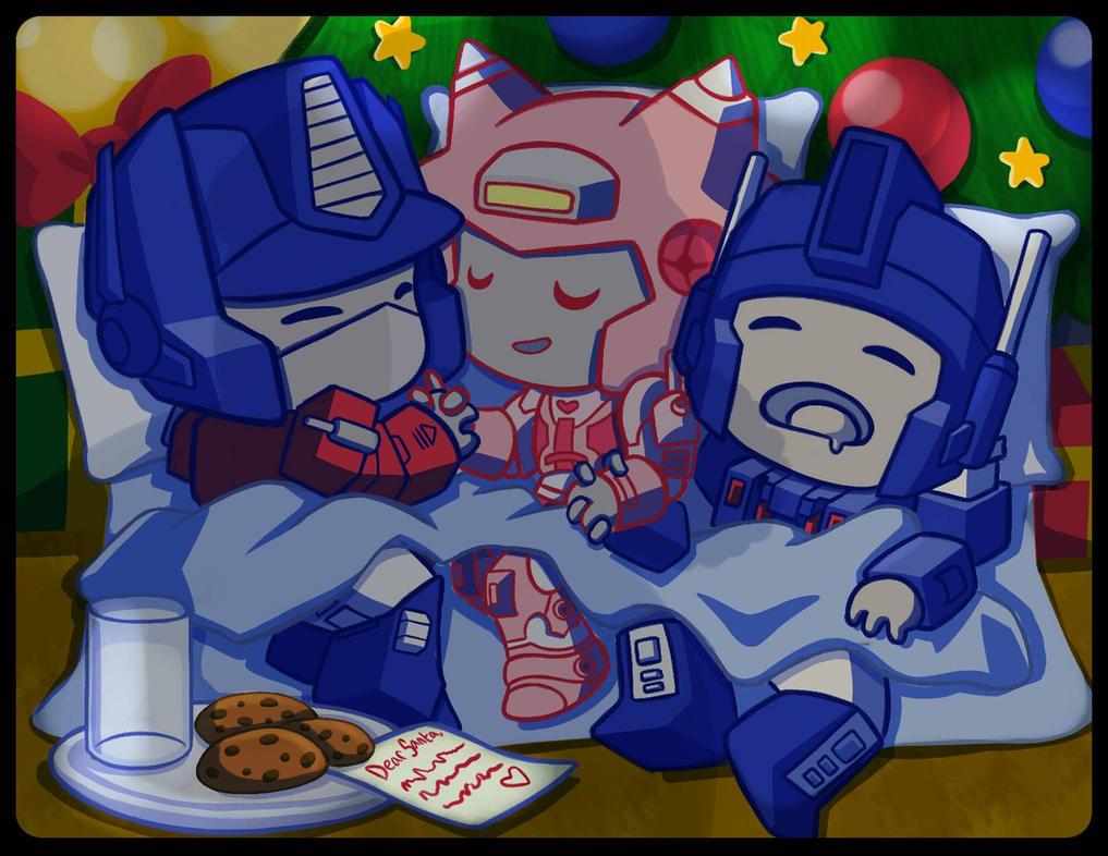 Christmas Eve Night by Jovianwolfgirl