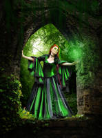 Green magic by Teodora-Chinde