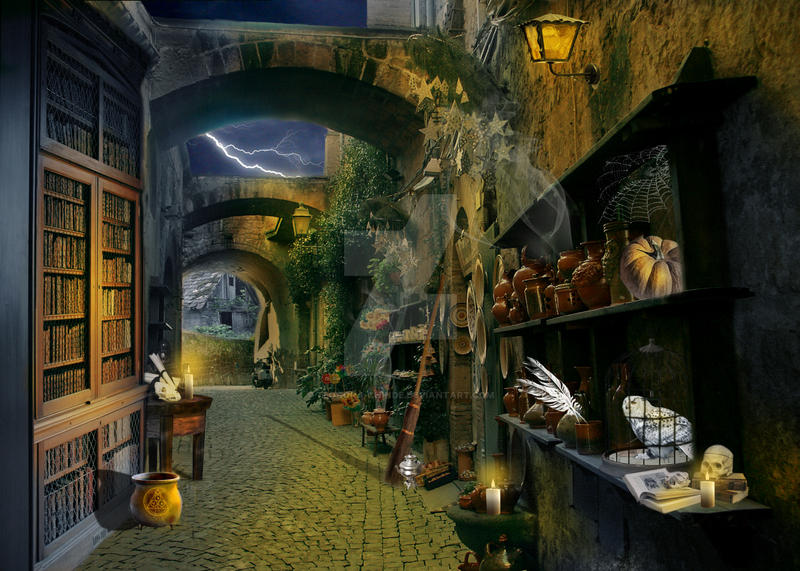 Diagon Alley By Teodora Chinde On Deviantart