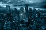 Storm Night City