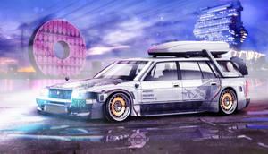Toyota Crown Wagon - the time machine
