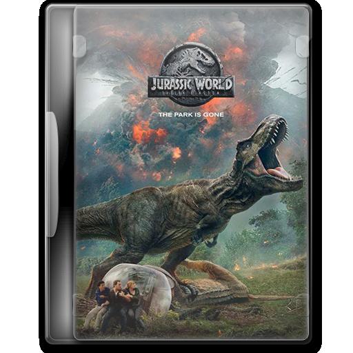 Jurassic World Fallen Kingdom 2018 Folder Icon By Macau131 On Deviantart