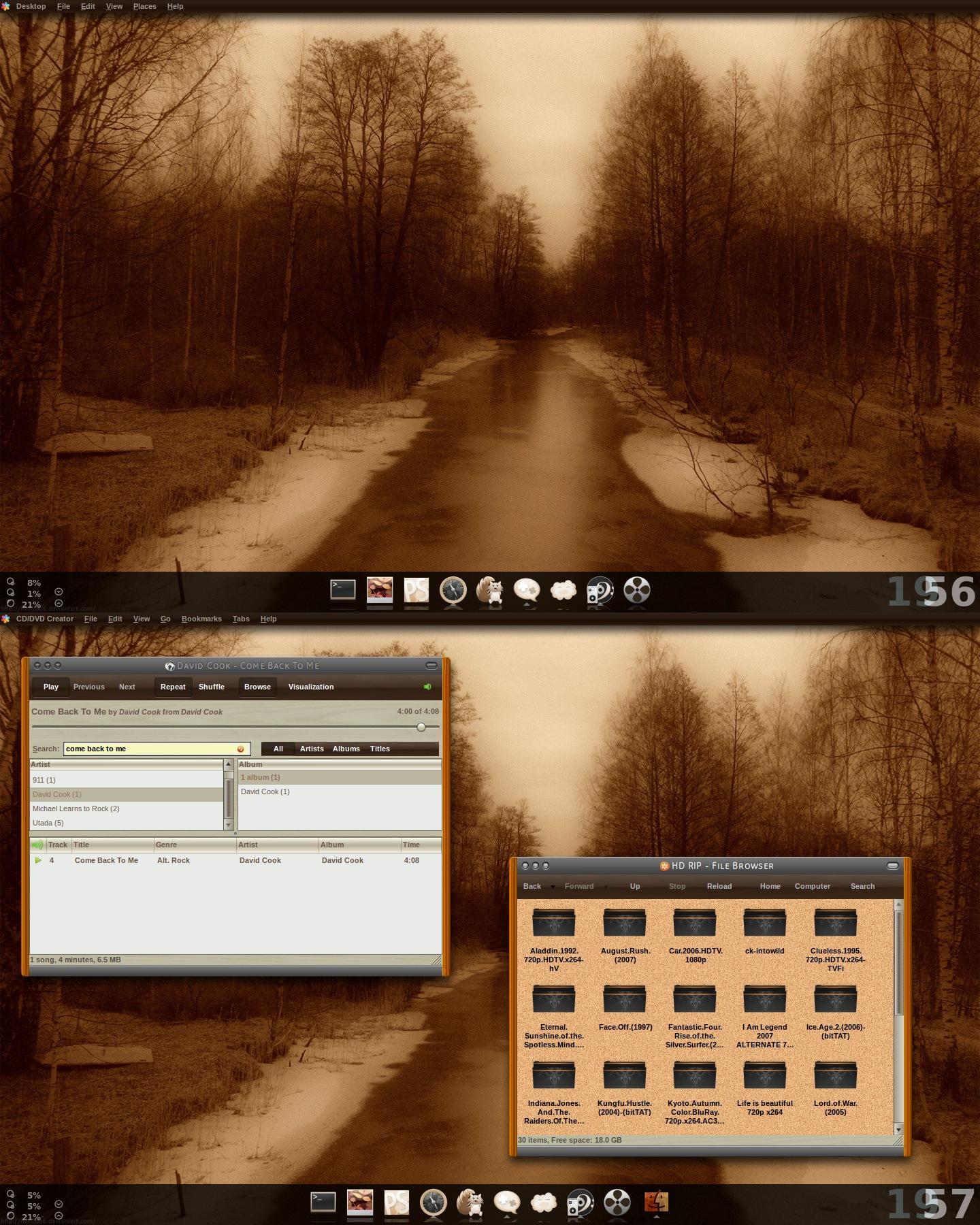 wood ubuntu by haicaoboi87