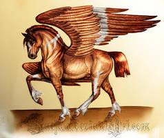 Winged Wonder by Faejala