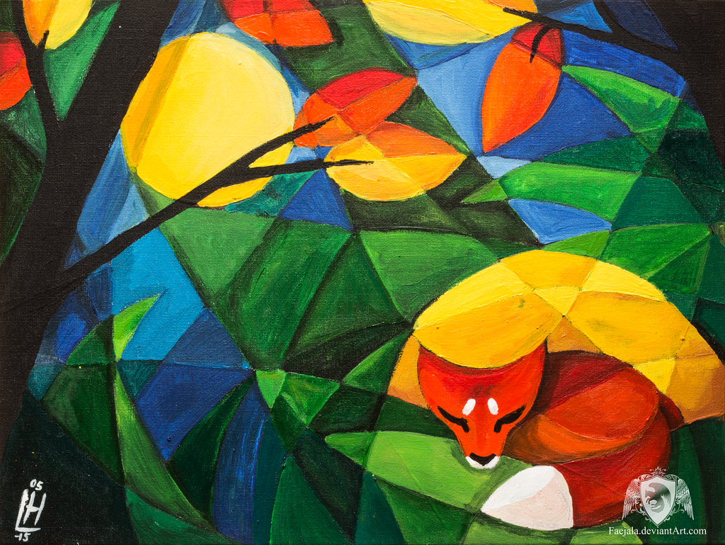 Sleeping Fox by Faejala