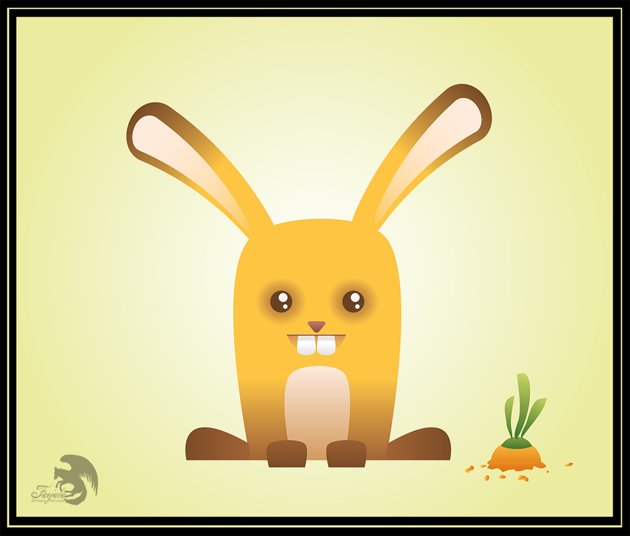 Happy bunny by Faejala