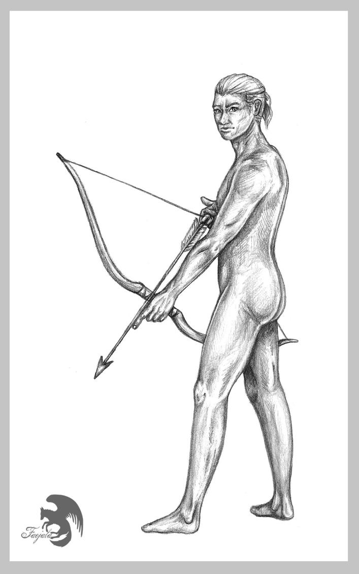 The Archer by Faejala