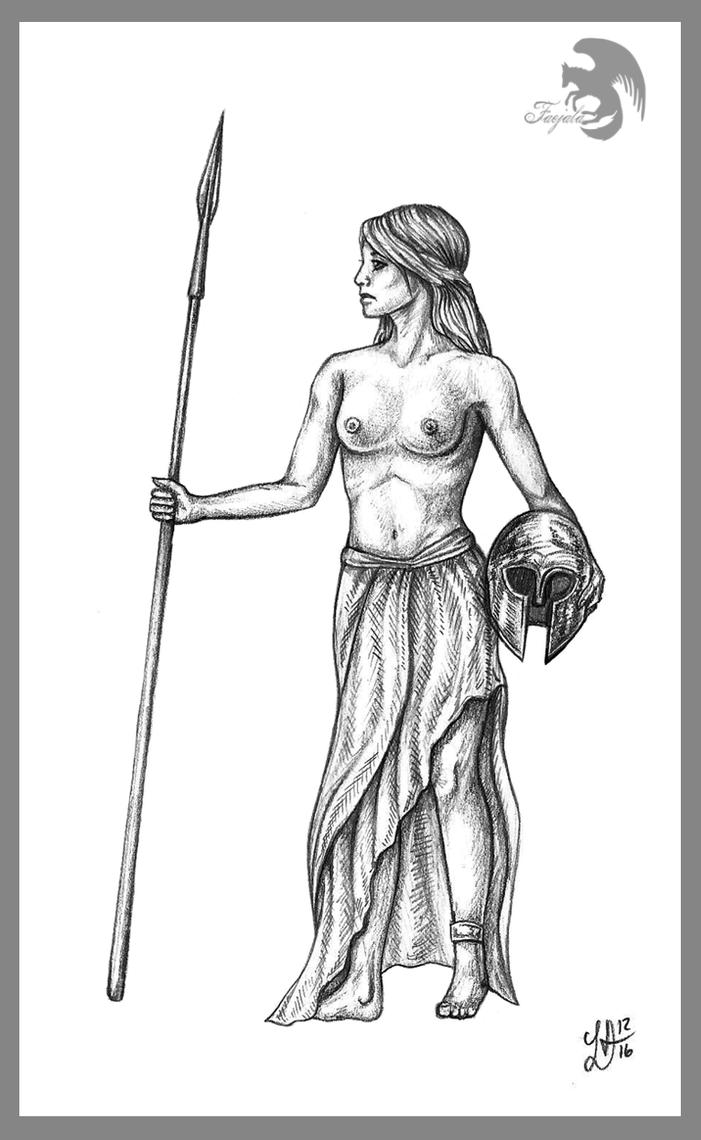 Warrior Maid by Faejala