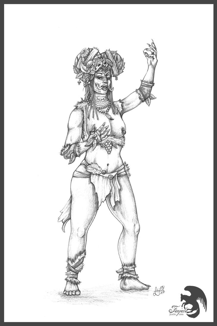 My fair Lady ...Troll by Faejala