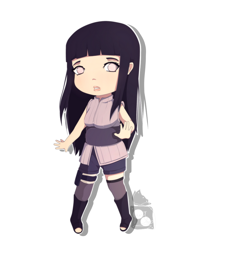 : Hinata The last : Chibi by JustSher on DeviantArt
