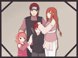 TsuKae family by JustSher
