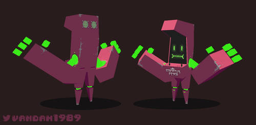 Arcade Bot by vandam1989