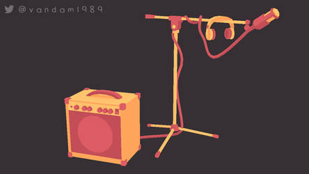 Mic n Amp by vandam1989