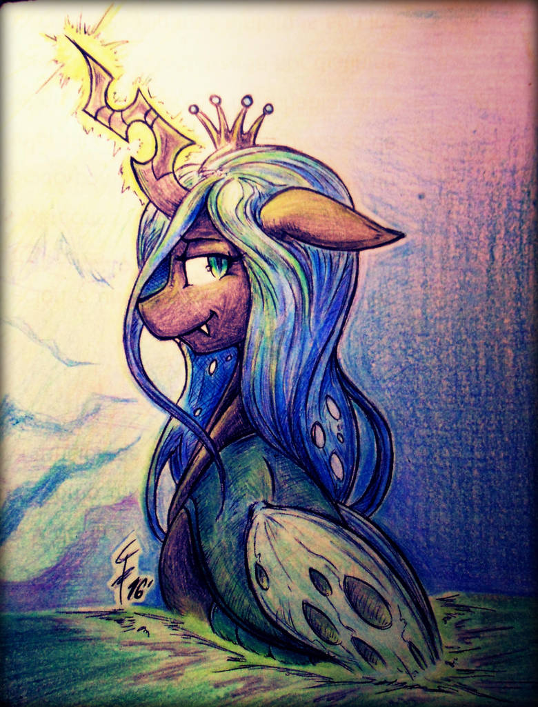 The Queen of Powerful Swarm by Tamikimaru