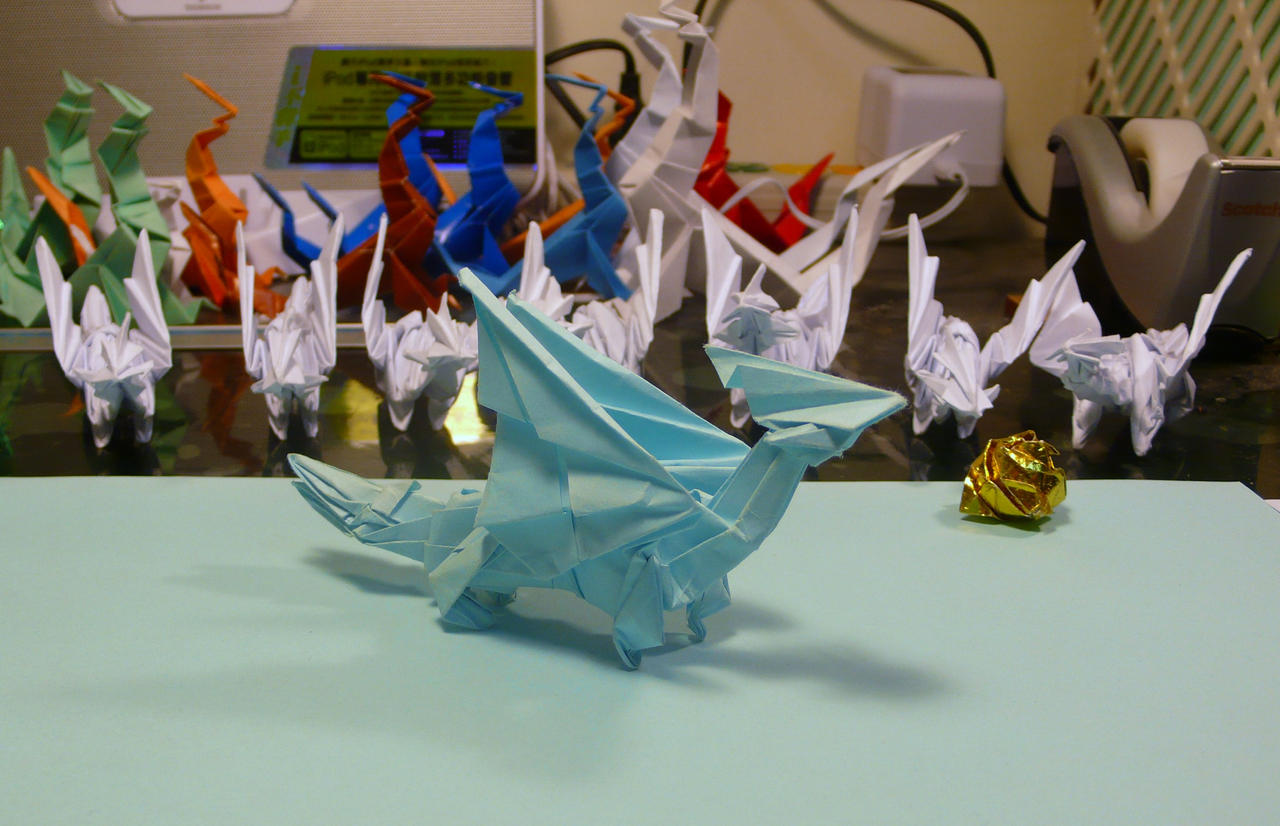 DRAGON INSTRUCTIONS MAKE ORIGAMI