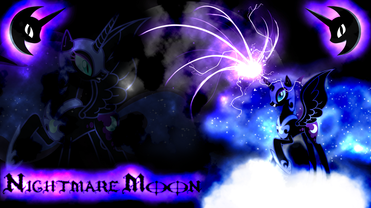 Nightmare Moon Wallpaper by Arakareeis