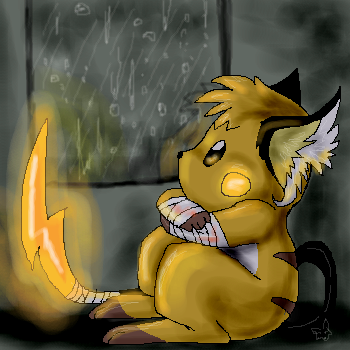 rain rain never go away by Lost-Mutt